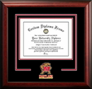 Campus Images MD998SD University of Maryland Spirit Diploma Frame