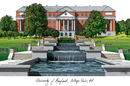 Campus Images MD998 University of Maryland Campus Images Lithograph Print