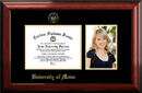 Campus Images ME999PGED-97 Maine University 9w x 7h Gold Embossed Diploma Frame with 5 x7 Portrait