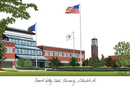 Campus Images MI980 Grand Valley State University Campus Images Lithograph Print