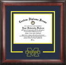 Campus Images MI982SD University of Michigan Spirit Diploma Frame