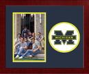 Campus Images MI982SLPFV University of Michigan Spirit Photo Frame (Vertical)