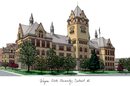 Campus Images MI983 Wayne State University Campus Images Lithograph Print