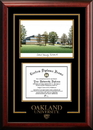 Campus Images MI984SG Oakland  University Spirit  Graduate Frame with Campus Image