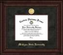 Campus Images MI987EXM Michigan State Executive Diploma Frame