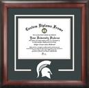 Campus Images MI987SD Michigan State Spartans Spirit Diploma Frame