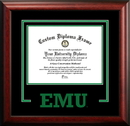 Campus Images MI995SD Eastern Michigan University Spirit Diploma Frame