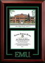 Campus Images MI995SG Eastern Michigan University Spirit Graduate Frame