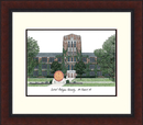 Campus Images MI999LR Central Michigan University Legacy Alumnus Framed Lithogrpah