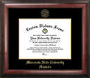 Campus Images MN997GED Minnesota State University Mankato Gold Embossed Diploma Frame