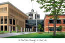 Campus Images MN998 St. Cloud State Campus Images Lithograph Print