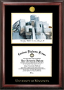 Campus Images MN999LGED University of Minnesota Gold embossed diploma frame with Campus Images lithograph