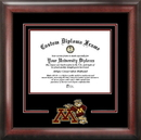 Campus Images MN999SD University of Minnesota Spirit Diploma Frame
