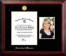 Campus Images MO999PGED-8511 University of Missouri 8.5w x 11h Gold Embossed Diploma Frame with 5 x7 Portrait