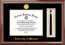 Campus Images MO999PMHGT University of Missouri Tassel Box and Diploma Frame