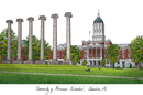 Campus Images MO999 University of Missouri Campus Images Lithograph Print