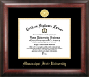 Campus Images MS997GED Mississippi State Gold Embossed Diploma Frame