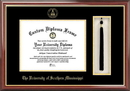 Campus Images MS998PMHGT Southern Mississippi Tassel Box and Diploma Frame