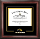 Campus Images MS998SD Southern Mississippi Spirit Diploma Frame