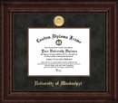 Campus Images MS999EXM University of Mississippi Executive Diploma Frame