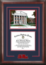 Campus Images MS999SG University of Mississippi Spirit Graduate Frame with Campus Image