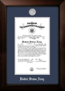 Campus Images NACLG002 Patriot Frames Navy 10x14 Certificate Legacy Frame with Silver Medallion