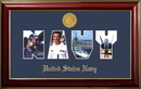Campus Images NASSCL001S Patriot Frames Navy Collage Photo Classic Frame with Gold Medallion