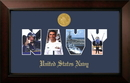 Campus Images NASSLG001S Patriot Frames Navy Collage Photo Legacy Frame with Gold Medallion