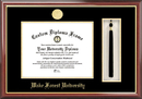 Campus Images NC991PMHGT Wake Forest University Tassel Box and Diploma Frame