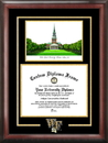 Campus Images NC991SG Wake Forest University Spirit Graduate Frame with Campus Image