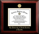 Campus Images NC993GED  University of North Carolina - Charlotte Gold Embossed Diploma Frame