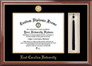 Campus Images NC995PMHGT East Carolina University Tassel Box and Diploma Frame