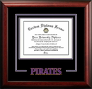 Campus Images NC995SD East Carolina University Spirit Diploma Frame