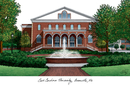 Campus Images NC995 East Carolina University Campus Images Lithograph Print