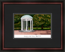 Campus Images NC997A University of North Carolina, Chapel Hill Academic Framed Lithograph
