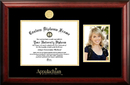 Campus Images NC998PGED-1185 Appalachian State University 11w x 8.5h Gold Embossed Diploma Frame with 5 x7 Portrait