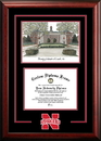Campus Images NE999SG University of Nebraska Spirit Graduate Frame with Campus Image