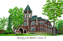 Campus Images NH998 University of New Hampshire Campus Images Lithograph Print