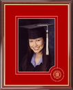 Campus Images NM999CSPF University of New Mexico 5X7 Graduate Portrait Frame