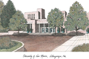 Campus Images NM999 University of New Mexico Campus Images Lithograph Print