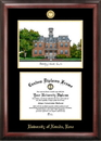 Campus Images NV998LGED University of Nevada Gold embossed diploma frame with Campus Images lithograph