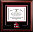 Campus Images OH982SD Miami University Ohio Spirit Diploma Frame