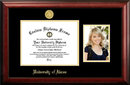 Campus Images OH983PGED-1185 University of Akron 11w x 8.5h Gold Embossed Diploma Frame with 5 x7 Portrait