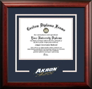 Campus Images OH983SD University of Akron  Spirit Diploma Frame