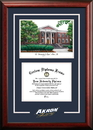 Campus Images OH983SG University of Akron  Spirit Graduate Frame with Campus Image