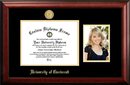 Campus Images OH984PGED-1185 University of Cincinnati 11w x 8.5h Gold Embossed Diploma Frame with 5 x7 Portrait