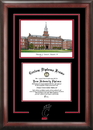 Campus Images OH984SG University of Cincinnati Spirit Graduate Diploma Frame with Campus Images Lithograph