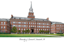 Campus Images OH984 University of Cincinnati Campus Images Lithograph Print
