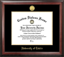 Campus Images OH985GED University of Toledo Gold Embossed Diploma Frame