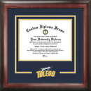 Campus Images OH985SD University of Toledo Spirit Diploma Frame